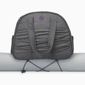 gaiam yoga dark gray bag, color Sage Green